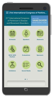 MDS Congress Mobile Meeting App.