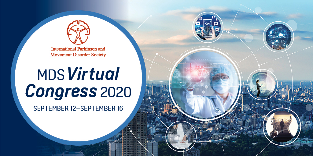 The International Congress of Parkinson's Disease and Movement Disorders takes place online, September 12-18, 2020.